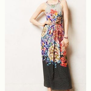 NWT Anthropologie Ranna Gil Arnala Maxi Dress